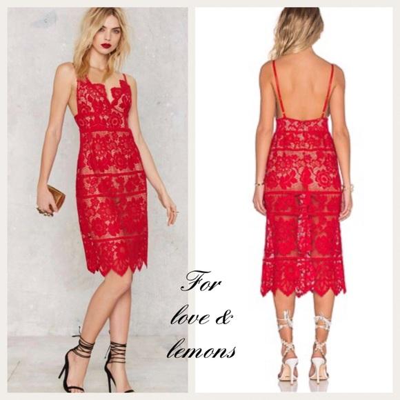 03c2d44c3f For love   lemons GIANNA dress